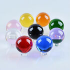 LONGWIN 50mm Quartz Crystal Ball Sphere Healing Crystals Photo Props No Stand