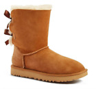 UGG Women's Bailey Bow II Boots - CHESTNUT