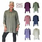 CMC by CLICK USA  1221  Rayon/Nylon GLOW A-Line HI-LO CARDI SHIRT Top  2017 FALL $38.35 USD on eBay