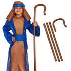 CHILDRENS KIDS BOYS GIRLS SHEPHERD NATIVITY PLAY FANCY DRESS COSTUME CHRISTMAS