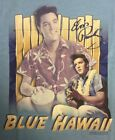 BRAND NEW LICENSED ELVIS BLUE HAWAII SHIRT - VARIOUS SIZES (*19)