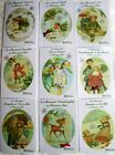 Christmas Cards - Various Captions & Designs. Vintage, Traditional & cute