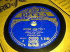 CLAUDE IVY WHERE ARE YOU? & WHY WASTE YOUR TEARS?  DECCA F3180
