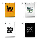 Positive Quotes Hard plastic case for Apple iPad Tablet IPAD Min Ipad Air
