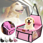 Portable Pet Dog Cat Car Seat Belt Booster Travel Carrier Folding Bag For Puppy