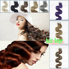 Tape in Skin Weft Brazilian Remy Human Hair Extensions Body Wavy 18Inch 20Pieces