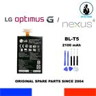 ORIGINAL BATTERY LG BL-T5 2100mAh 8,0Wh NEXUS 4 OPTIMUS G SWIFT GEE MAKO OEM