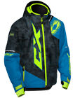 Castle X Youth Process Blue/Alpha Black Stance Insulated Snowmobile Jacket