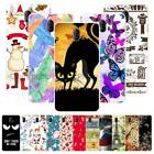 """For ZTE Blade V8 Pro 5.5"""" Christmas Soft TPU Case Cover 2018 New Year Tower Cat"""