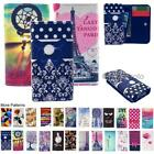 For Gionee X1s Wallet Bag Flip Case Cover Wings Tower Insect Leopard Smile Heart