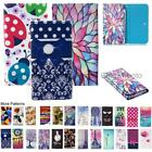 For Gooweel S7 Wallet Bag Flip Case Cover Wings Tower Insect Leopard Heart Tree