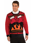 Ugly Christmas Party Sweater Red Brick Chimney Sweater With Stockings