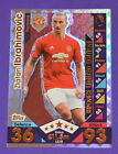 MATCH ATTAX 2016/17 16/17 EXTRA - LE2 Zlatan Ibrahimovic Limited Edition cards