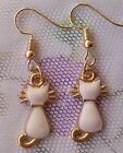 Hot sell 1Pair cat women ornament fashion accessories charm jewelry earring A494