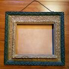 OLD Antique Victorian Magazine Mail Art Print Holder Wall Pocket Ornate Frames!!