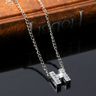 Name Initial Letter Necklace Crystal Alphabet Letters Pendants Christmas Gifts