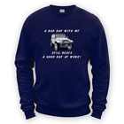 Bad Day With My JK Beats Work Sweater -x8 Colours- Gift Present 4x4 Lift
