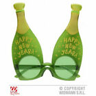 Happy New Year Plastic Champagne Glasses Bottle Celebration Party Props
