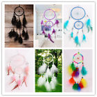 Boho Dream Catcher Car Pendant Home Wall Hanging Decor Feather Handicraft Gift