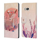 HEAD CASE DESIGNS WOODLAND ANIMALS LEATHER BOOK WALLET CASE FOR HTC PHONES 1