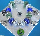 NFL SEATTLE SEAHAWKS Spirit of 12s European Crystal Bracelet Russell Wilson FREE on eBay