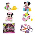 Various Minnie Mouse Toys Train Go Cart Cash Register Plush Trolley Bag Tea Set