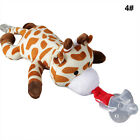 10 Color Infant Baby Kids Pacifier Cute Animals Shape Silicone Pacifiers Nipple