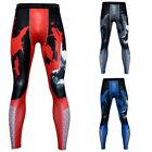 Mens Yoga Compression Base Layer Pants Long Running Leggings Gym Sport Trousers