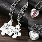 Women Alloy Heart Lobster Claw Clasp Long Chain Stone Necklace ZZ