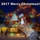 Outdoor Christmas LED Moving Laser Projector Landscape Xmas Santa Party Light
