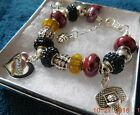 NBA CLEVELAND CAVALIERS Crystal Team Charm Bracelet  LEBRON JAMES  FREE SHIPPING on eBay