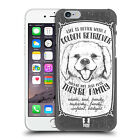 HEAD CASE DESIGNS HAND-DRAWN DOG BREEDS HARD BACK CASE FOR APPLE iPHONE PHONES