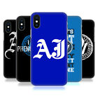 OFFICIAL WWE AJ STYLES HARD BACK CASE FOR APPLE iPHONE PHONES