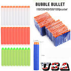 Lot 100-1000Pcs Soft Bullet Darts For NERF N-Strike Kids Toy Gun Blasters Gift