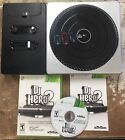 Dj Hero Wireless  Turntable Controller Accessory for Xbox 360