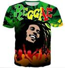 New Fashion Womens/Mens Reggae Star Bob Marley 3D Print