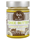 NEW 4th & HEART GHEE BUTTER GRASS FED MADAGSCAR LACTOSE GLUTEN FREE KOSHER DIARY