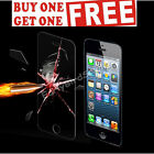 Genuine Tempered Glass Screen Protector For Apple iPhone 5 & Iphone 5,S
