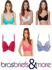 Lepel Fiore Padded Push Up Bra Various Colours BNWT
