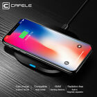 Qi Wireless Fast Charger Charging Pad Mat Receiver For iPhone X 8Plus Samsung S8