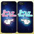 best phone cases for iphone 5 - For iPhone & Samsung - Stars She's My Best Friend Matching Phone Case Cover Q43