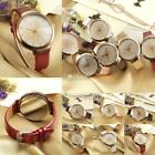 Fashion Women Synthetic Leather Casual Watch Analog Quartz Crystal DZ88