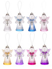 Crystal Expressions Angel w/ Cross Acrylic Ornament NEW! CHOOSE YOUR COLOR!