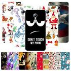 """For ZTE Blade X9 5.5"""" Christmas Plastic Case Cover 2018 New Year Tower Cat Love"""