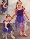 Star Fairy Dance Costume Dress w/ Attached Wings Christmas Clearance Child Large