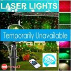 LED Laser Lights Projector Party BBQ Event Xmas Outdoor Garden Waterproof Remote