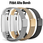 Milanese Loop Stainless Steel for Fitbit Alta  HR Band Magnetic Closure Clasp