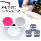 UV Nail Extension Gel/Thick Builder Camouflage Clear/Pink/White for Tip Overlays
