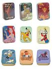 Genuine Disney 2oz Collectors Tin Storage Keepsake Muppets Olaf Mermaid Pluto