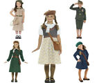 Girls War Costume WW2 War Fancy Dress
